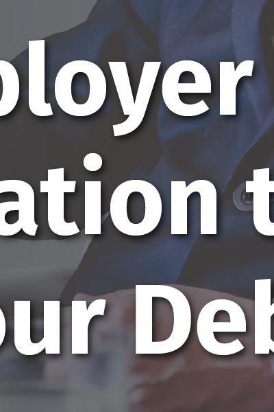 Companies Are Not Responsible for Repaying Employee Debt